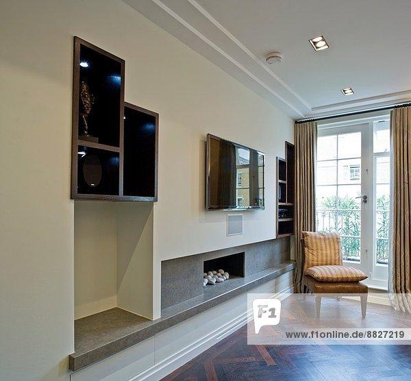 Wohnhaus Zimmer London Hauptstadt Mittelpunkt Wohnzimmer