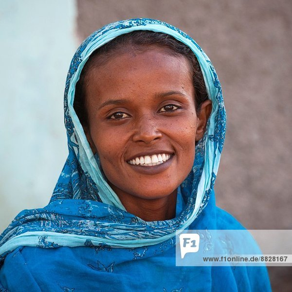 Young Muslim Woman  Tadjourah  Djibouti.