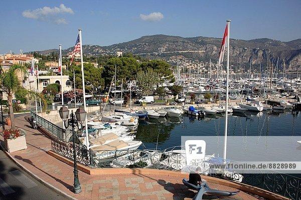 France  Provence  Côte d´Azur  St Jean Cap Ferrat  harbour.