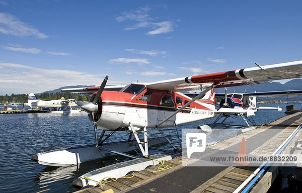 Canada  Vancouver  Water plane near Coral Harbour