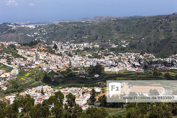 Spanien  Kanarische Inseln  Gran Canaria  Blick auf Teror