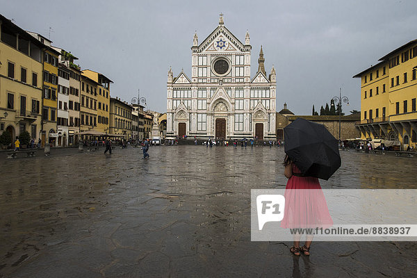 Kirche Santa Croce  Florenz  Toskana  Italien