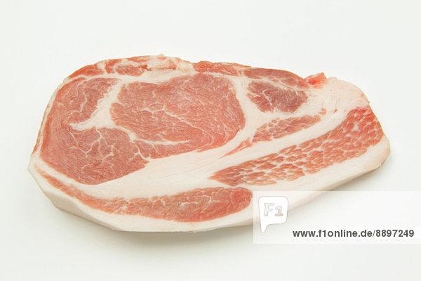 Fleisch  Schweinefleisch  Schwein  roh