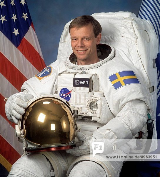 Arne Christer Fuglesang  Swedish physicist and astronaut  the first Swedish citizen in space  2003.