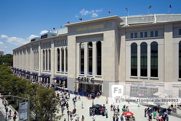 Yankee Stadium New  The Bronx  New York City  USA
