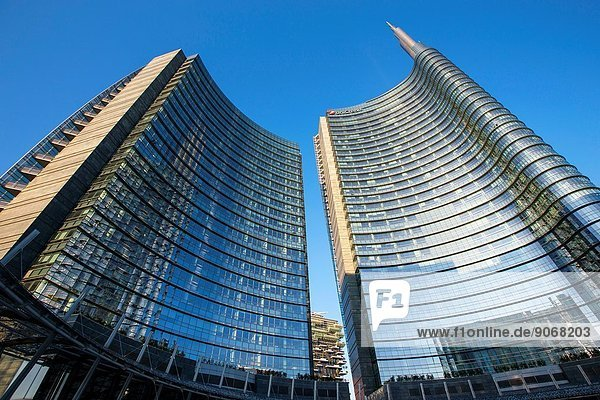 Unicredit Tower  Milan  Italy