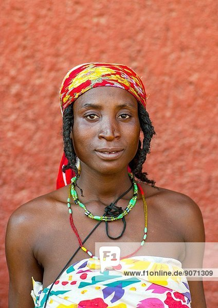 Mundimba Refugee Woman Of The Angolan Civil War  Opuwo  Namibia.