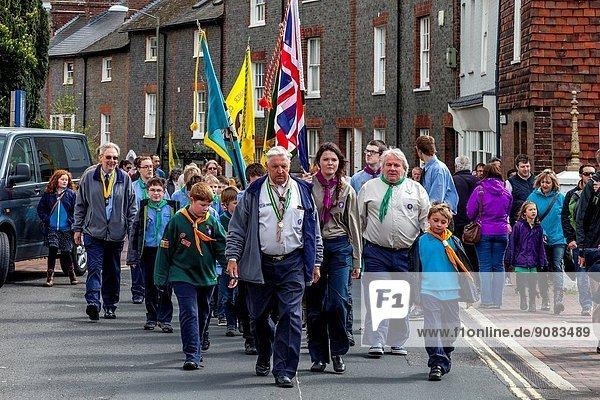Sunday 27th April 2014. Lewes  Sussex  UK.