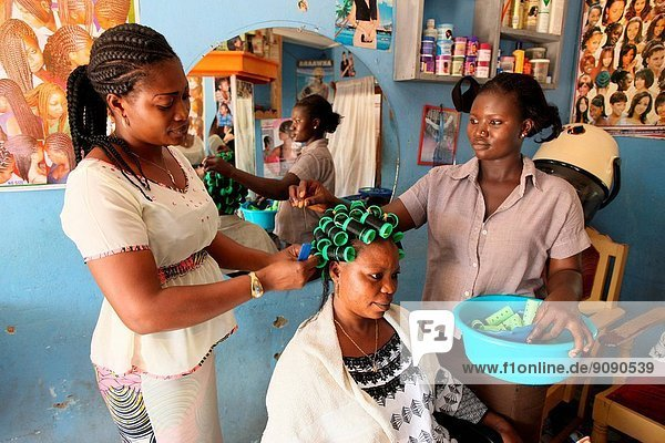 Hairdressing workshop  Togo