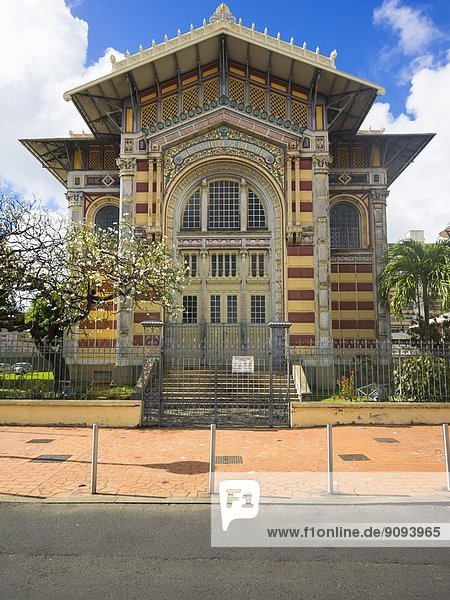 Karibik  Antillen  Kleine Antillen  Martinique  Fort-de-France  Schoelcher Bibliothek