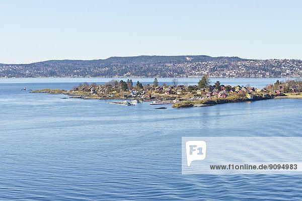 Skandinavien  Norwegen  Oslo  Küste
