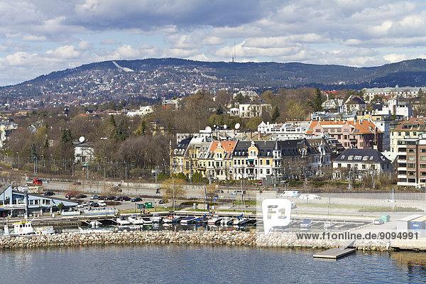 Skandinavien  Norwegen  Oslo  Stadtansicht und Hafen