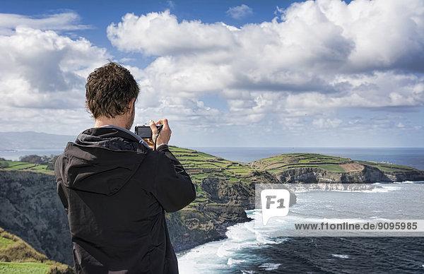 Portugal  Azoren  Sao Miguel  Touristische Aufnahmeansicht