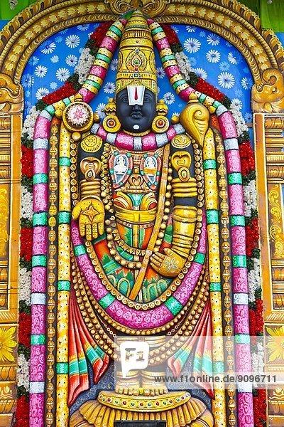 Sri Srinivasa Perumal Temple  Singapore  Asia