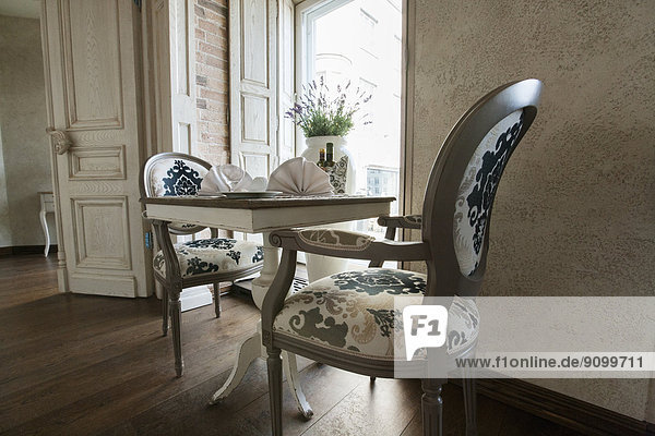 Stuhl  Restaurant  arrangieren  Tisch