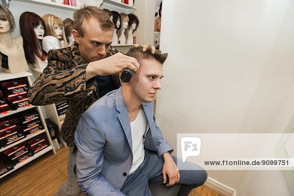 Laden  Rasur  Friseur  Haar