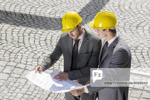 bauen  Analyse  Architekt  Blaupause  jung