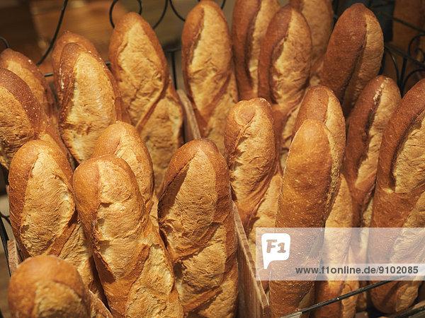 Baguettes  französisches Brot  Japan