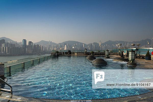 Dach Hafen Ehrfurcht Hotel China Hongkong