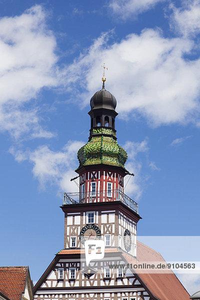 Rathaus  Kirchheim unter Teck  Schwäbische Alb  Baden-Württemberg  Deutschland