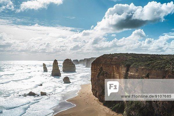The Twelve Apostles at Port Campbell National Park  Victoria  Australia
