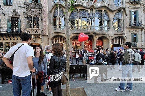 Renovierung bauen Barcelona Katalonien Spanien
