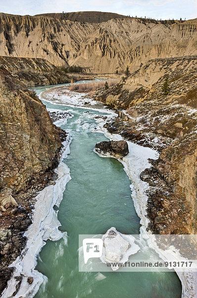 Winter  British Columbia  Kanada