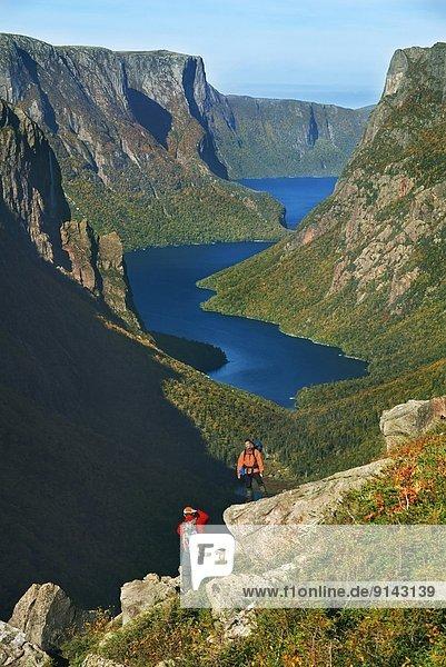 über wandern fotografieren 1 Neufundland Teich