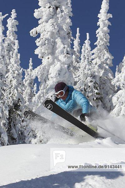 sternförmig Berg Skifahrer Urlaub Silber