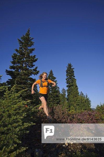 Berg  folgen  rennen  Cypress Provincial Park  britisch  Kanada