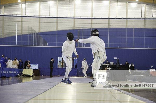 Mann Ehrfurcht Fotograf Olympische Spiele Olympiade Richmond London Borough of Richmond upon Thames britisch Kanada Vancouver