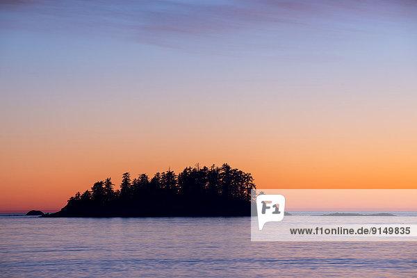 Strand  frontal  Insel  Tofino  British Columbia  British Columbia  Kanada