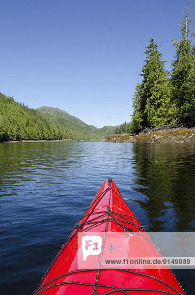 Kajak British Columbia Kanada