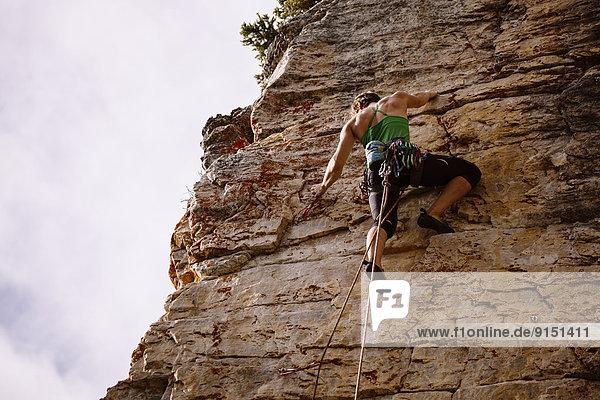 Kraft  Start  Großstadt  Klettern  Silber  Banff  bekommen