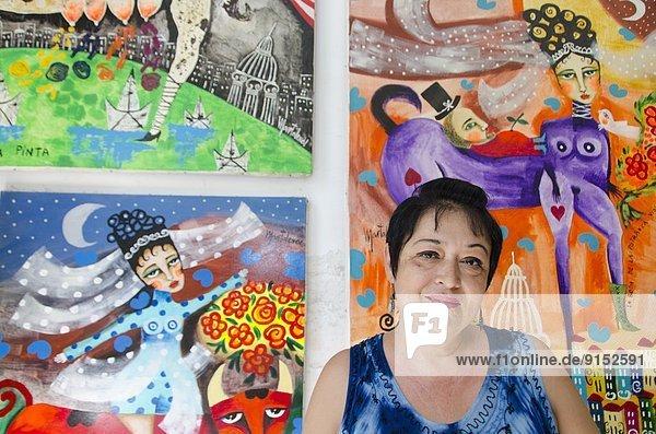 Havanna  Hauptstadt  Künstler  Kuba
