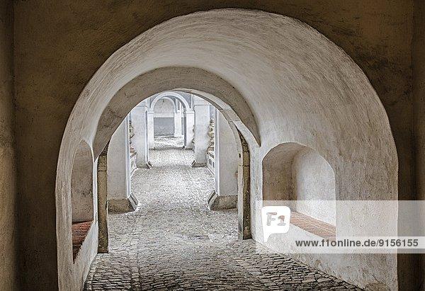 Korridor  Korridore  Flur  Flure  Tschechische Republik  Tschechien  Cesky Krumlov