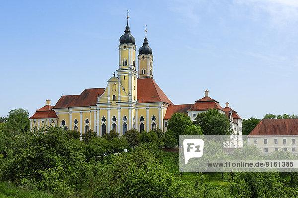 Kloster Roggenburg der Prämonstratenser  Roggenburg  Bayerisch Schwaben  Bayern  Deutschland