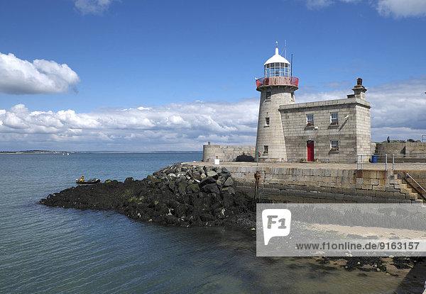 Der alte Leuchtturm von Howth  Halbinsel Howth Head  Provinz Leinster  Irland