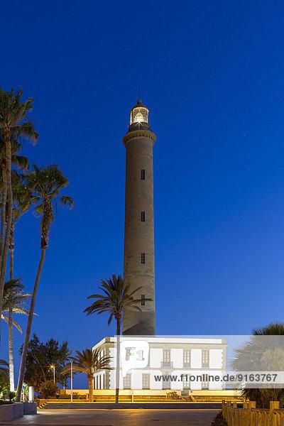 Lighthouse of Maspalomas  Faro de Maspalomas  Gran Canaria  Canary Islands  Spain