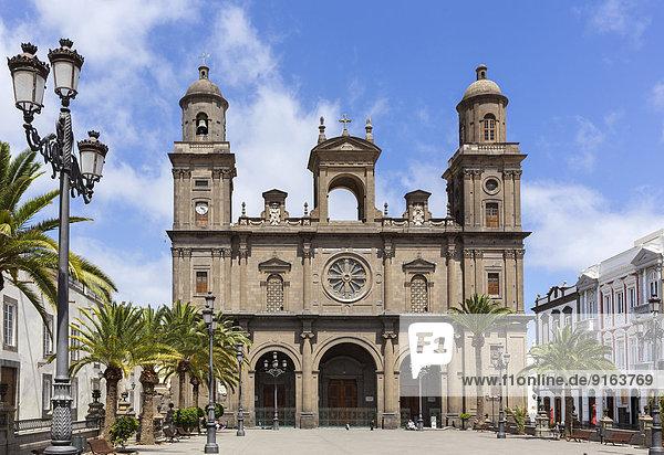 Cathedral of Santa Ana  Las Palmas de Gran Canaria  Gran Canaria  Canary Islands  Spain
