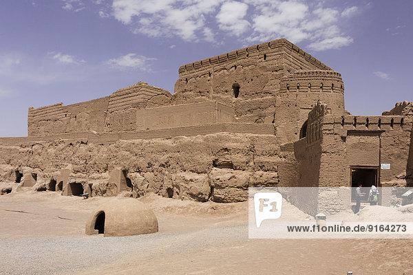Narenj or Narin Castle  Meybod  Yazd  Iran