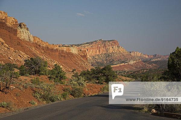 Scenic Drive  Capitol Reef-Nationalpark  Torrey  Utah  USA