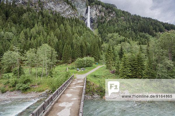 Wasserfall Jungfernsprung bei Heiligenblut  Kärnten  Österreich