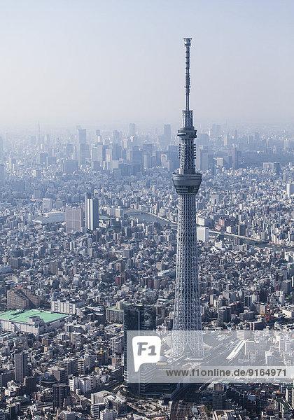 Tokio  Fernsehturm  Skytree  Japan