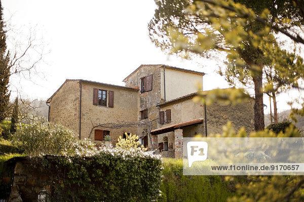 Italien  Toskana  Volterra  Landhaus