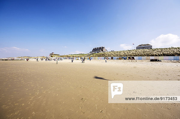 Niederlande  Zeeland  Domburg  Strand