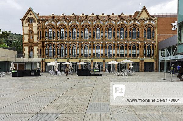 Spanien  Barcelona  Außenansicht des Museums CosmoCaixa