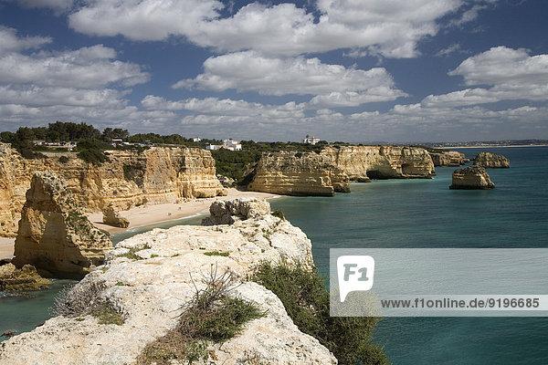 Strand Praia da Marinha  Südküste  Algarve  Portugal