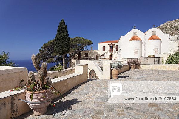 Monastery of Preveli  Rethymno  Crete  Greece