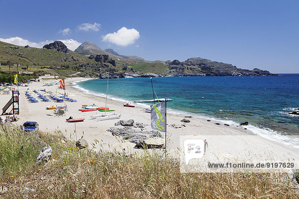 Rethymno Kreta Griechenland Plakias